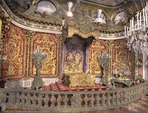 Ludwig der II. war ein großer Liebhaber von Paradeschlafzimmern