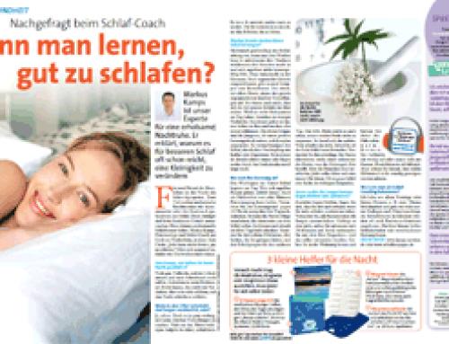 Kann man lernen, gut zu schlafen? – Laura Ausgabe 33/2012