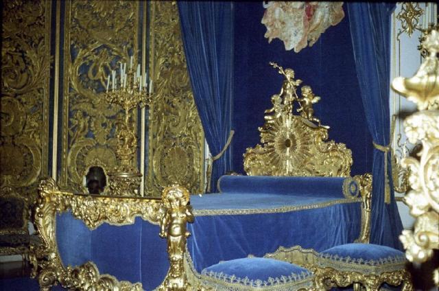 Schlafzimmer In Schloss Linderhof