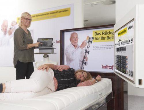 Dosigraph Messbett – Rückenanalyse