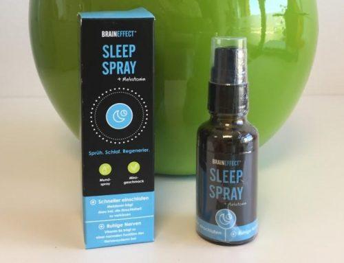 Besser einschlafen mit Melatonin SLEEP SPRAY von Braineffect