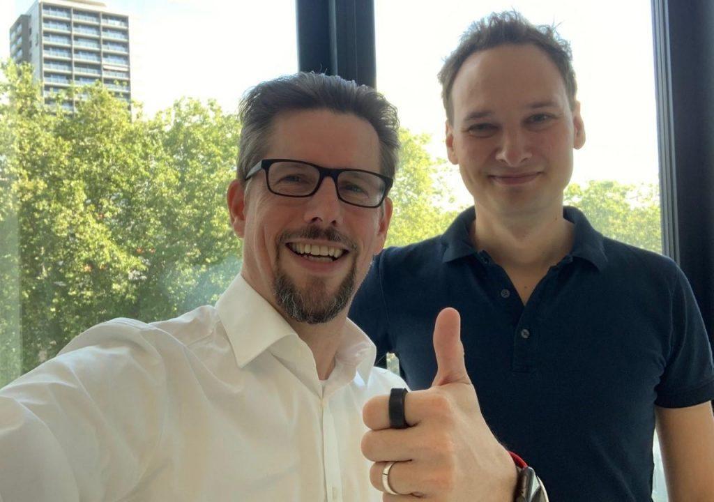 Markus Kamps und Albrecht Vorster
