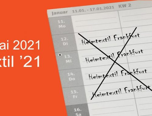 Heimtextil 2021 findet im Mai statt