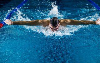 Profi Schwimmer