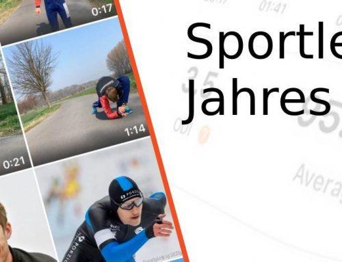 Unser betreuter Eisschnellläufer nominiert zum Sportler des Jahres