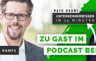 Teaser Podcast Rayk Hahne und Markus Kamps